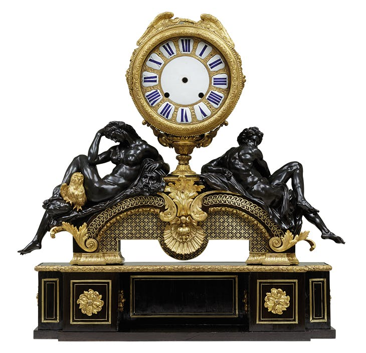 'Day and Night' clock (c. 1728), attributed to André-Charles Boulle.