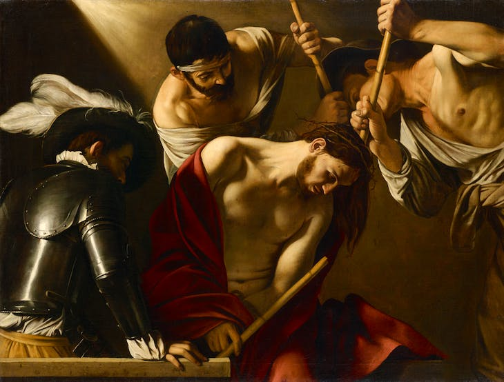 The Crowning with Thorns (c. 1603), Caravaggio.