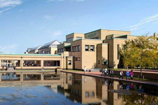 The museum formerly named the Gemeentemuseum Den Haag. Photo: GAPS