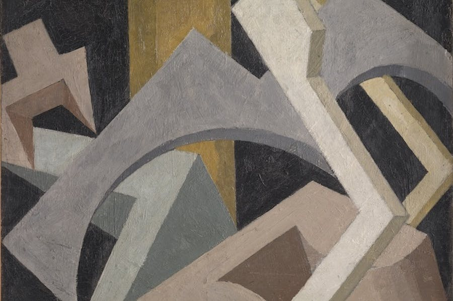 Abstract Composition (c. 1915), Jessica Dismorr.