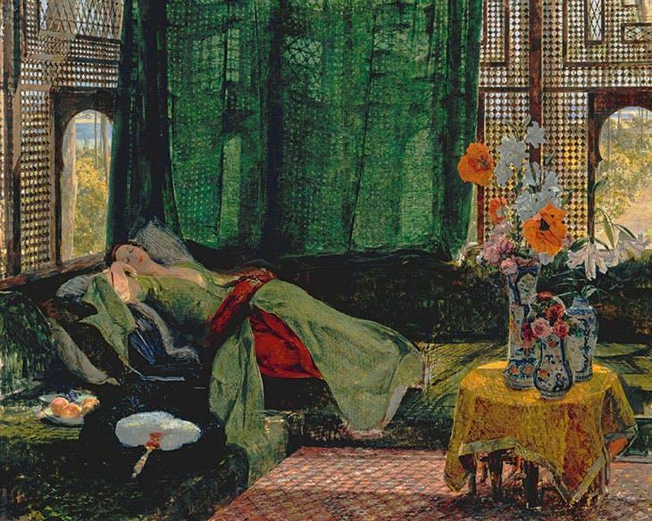 The Siesta (1876), John Frederick Lewis. Tate, London