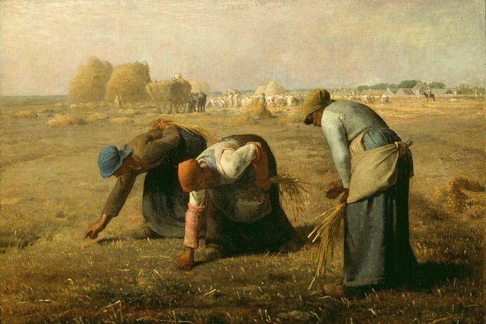 The Gleaners (1857), Jean-François Millet. Musée d'Orsay, Paris