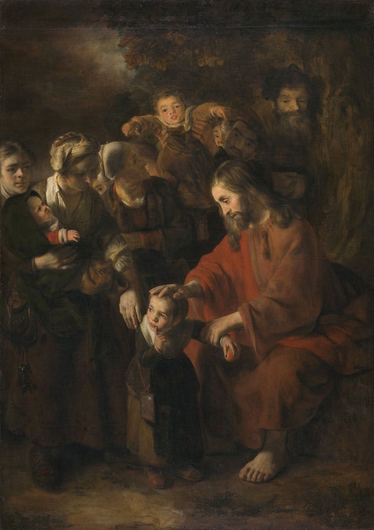 Christ Blessing the Children (1652–53), Nicolaes Maes. National Gallery, London