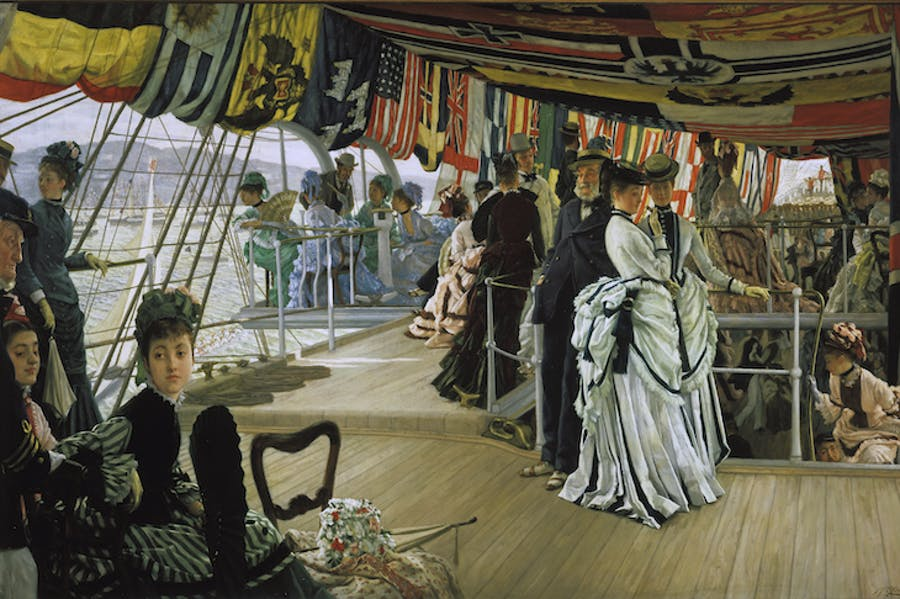 The Ball on Shipboard (c. 1874), James Tissot.