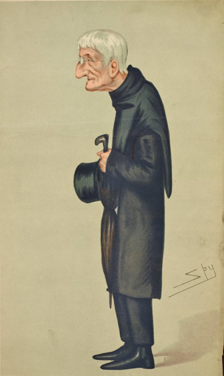 Men of the Day, No. 145, 'Tracts for the times' (1877), Leslie Ward, first published in Vanity Fair