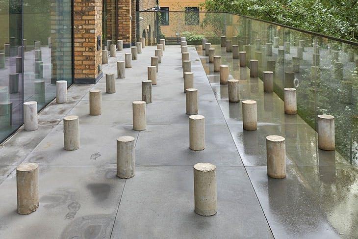Colosse Aux Pieds d'Argile (2015), Rayyane Tabet. Aïshti Foundation, Beirut. Installation view of 'Rayyane Tabet: Encounters' at Parasol unit, London, 2019