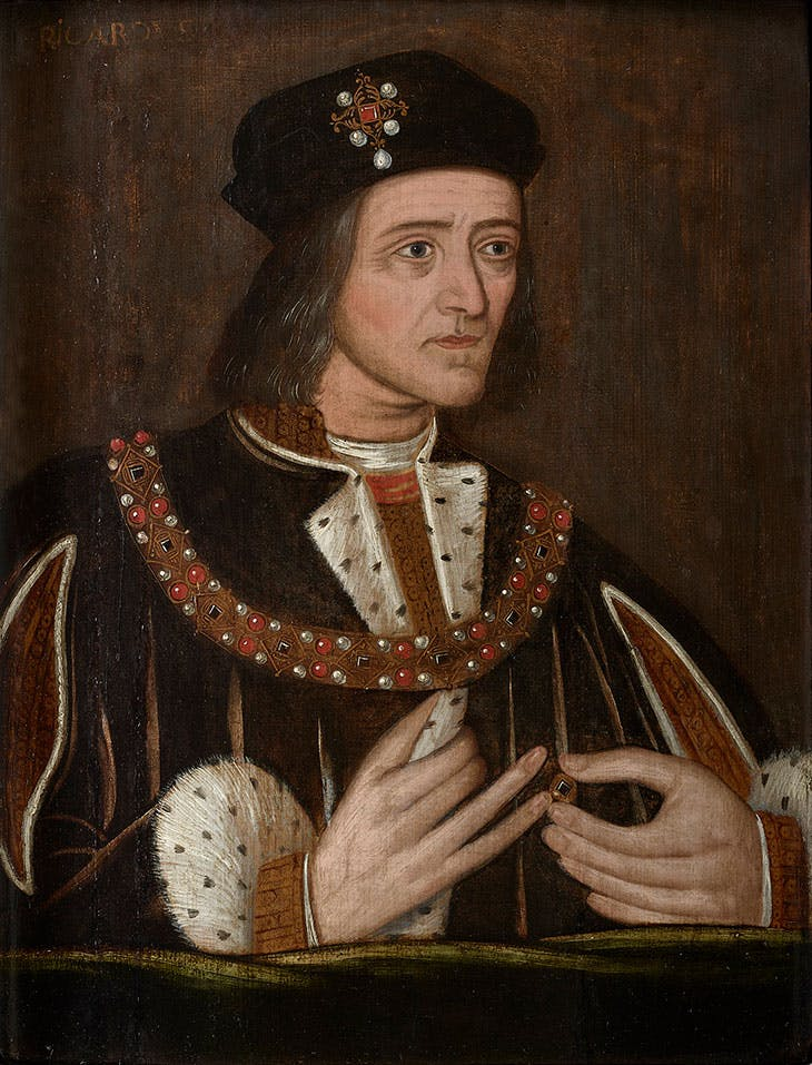 Richard III (late 16th century), English School.