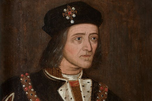 Richard III (detail; late 16th century), English School.