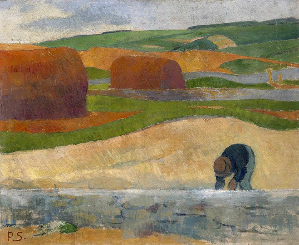 The Seaweed Gatherer (c. 1890), Paul Sérusier. Indianapolis Museum of Art, Newfields
