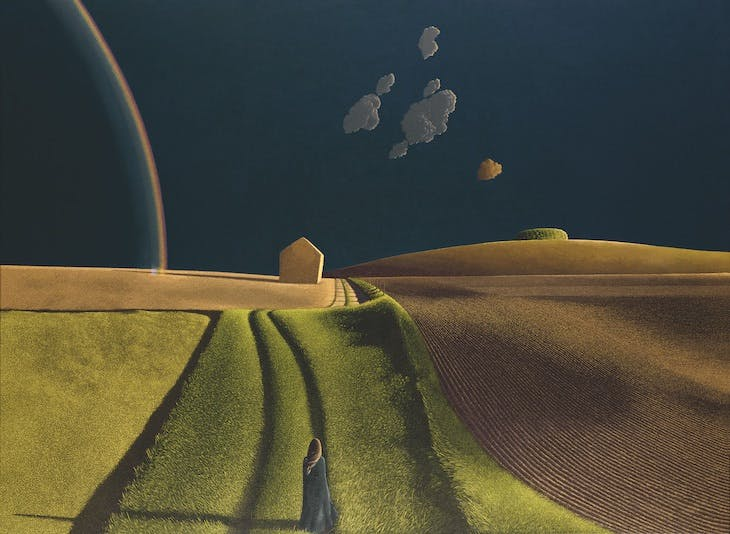 She Did Not Turn (1974), David Inshaw.