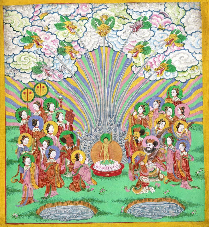 Scene from The Life of Buddha