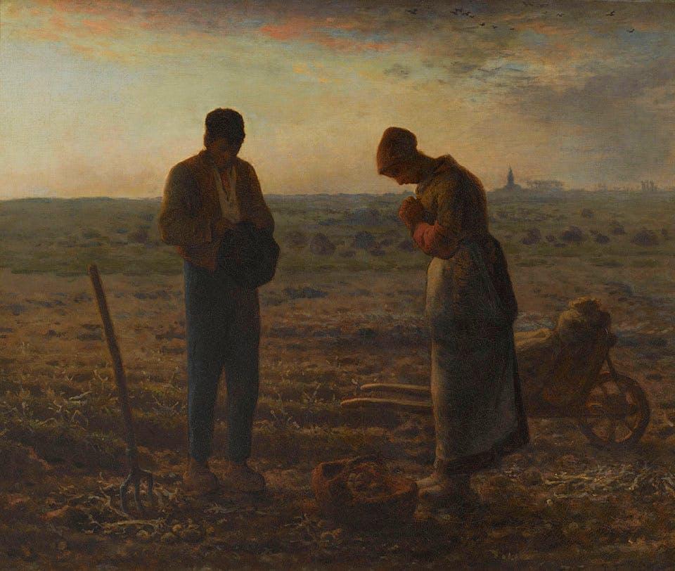 The Angelus (1857–59), Jean-François Millet. Musée d'Orsay, Paris