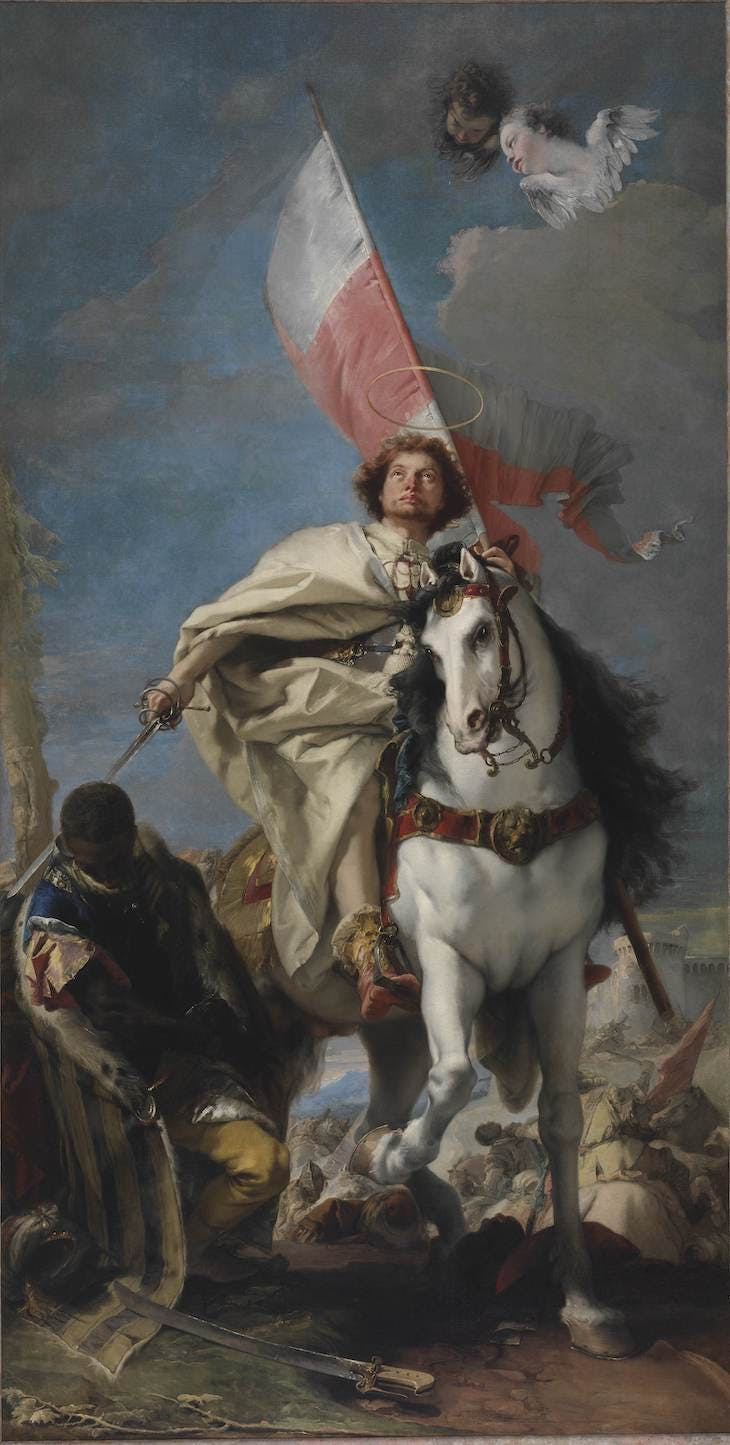 James the Great (1749–50), Giovanni Battista Tiepolo.