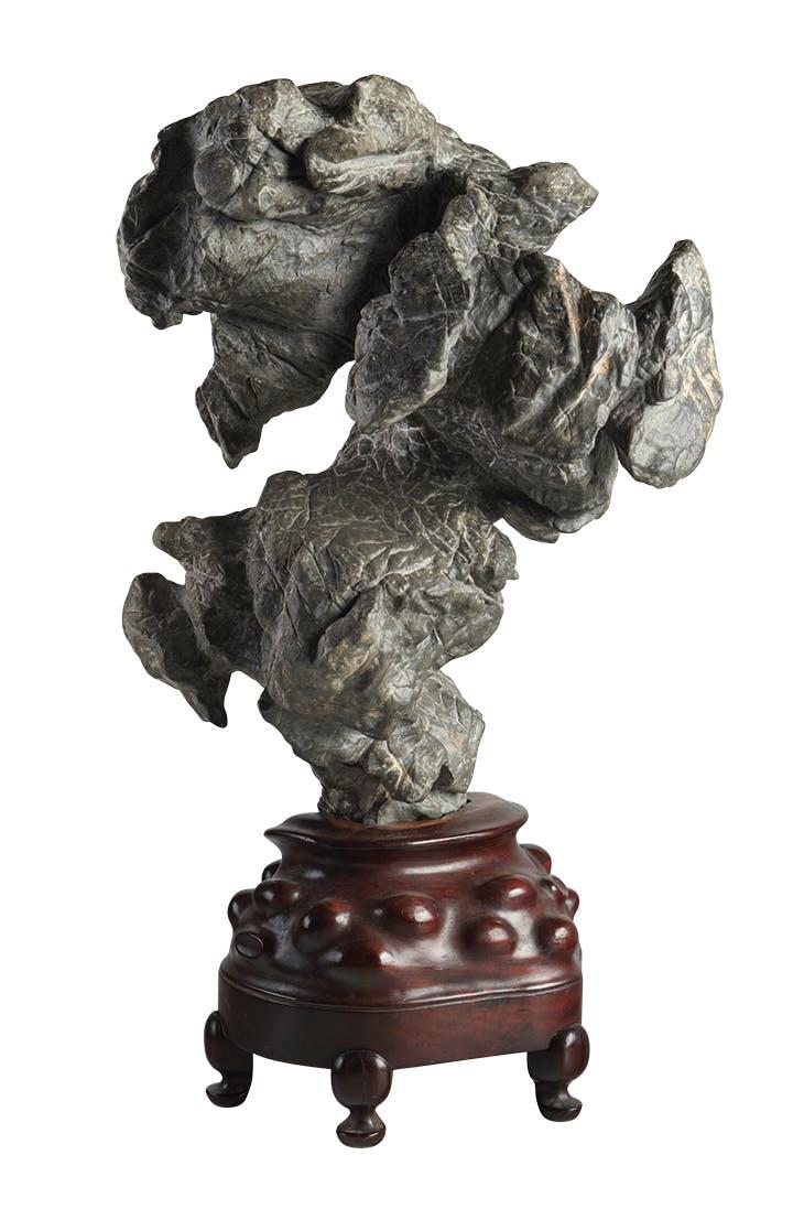 Scholar's rock (18th century or earlier), China. Eskenazi