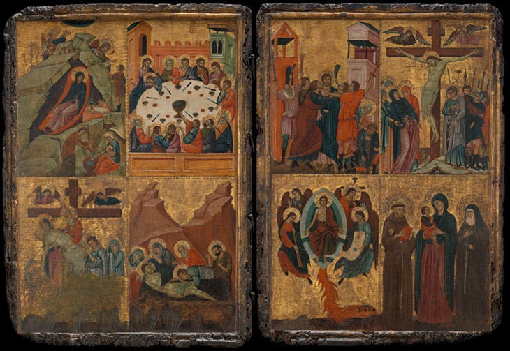 Eight Scenes from the Life of Christ (14th century), Italy. Virginia Museum of Fine Arts, Richmond