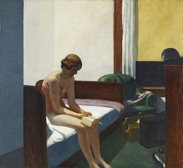 Hotel Room (1931), Edward Hopper.