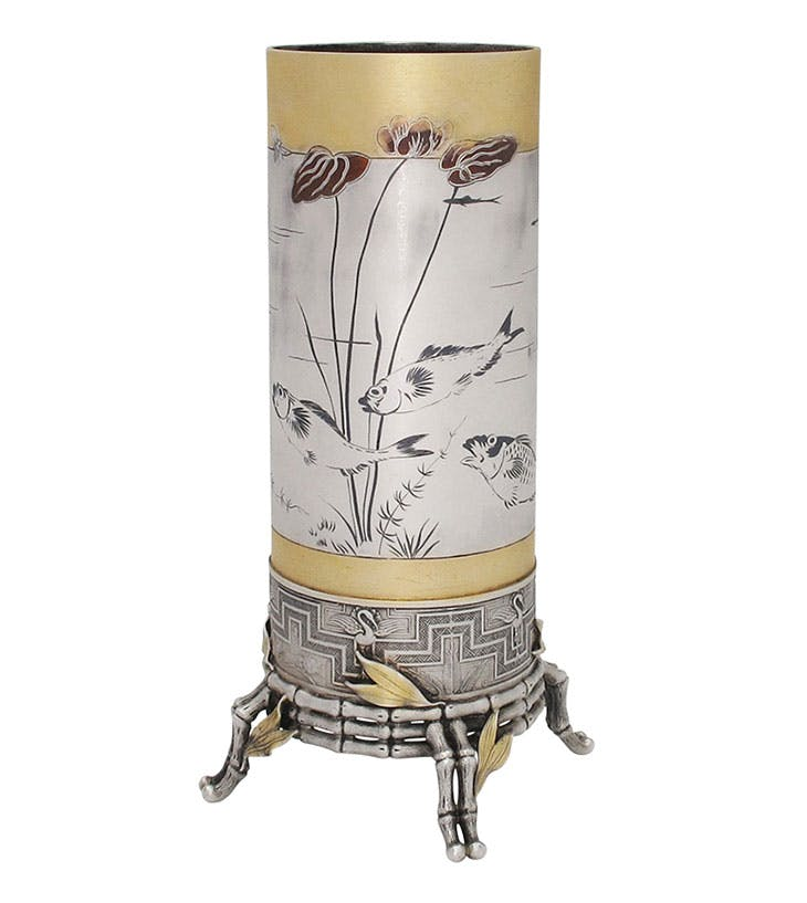 'Japonisme' vase (c. 1876), Tiffany & Co. S.J. Shrubsole (price on application)
