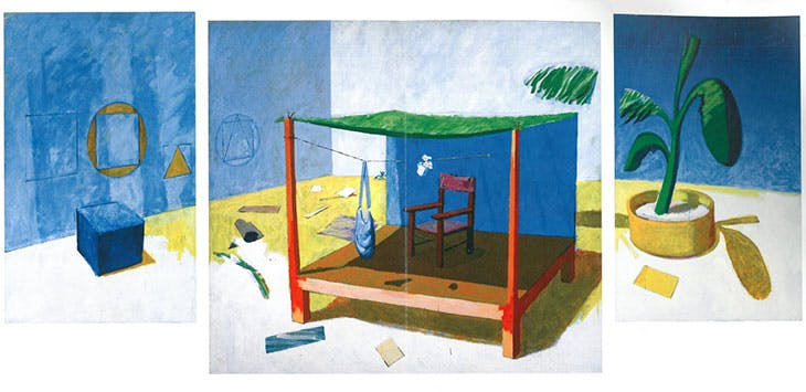 Place (triptych; 1976–78), Victor Willing.