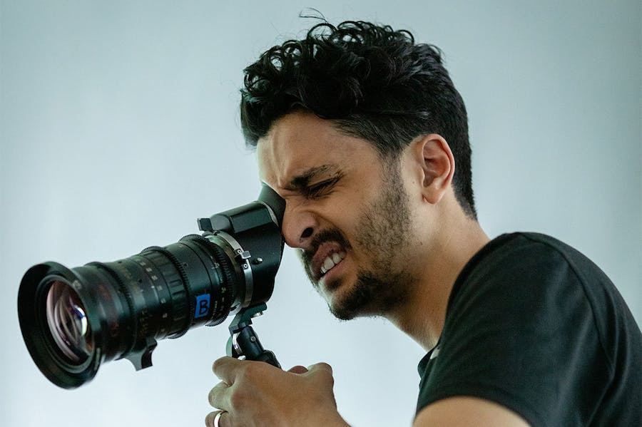 Imran Perretta filming the destructors (2019).