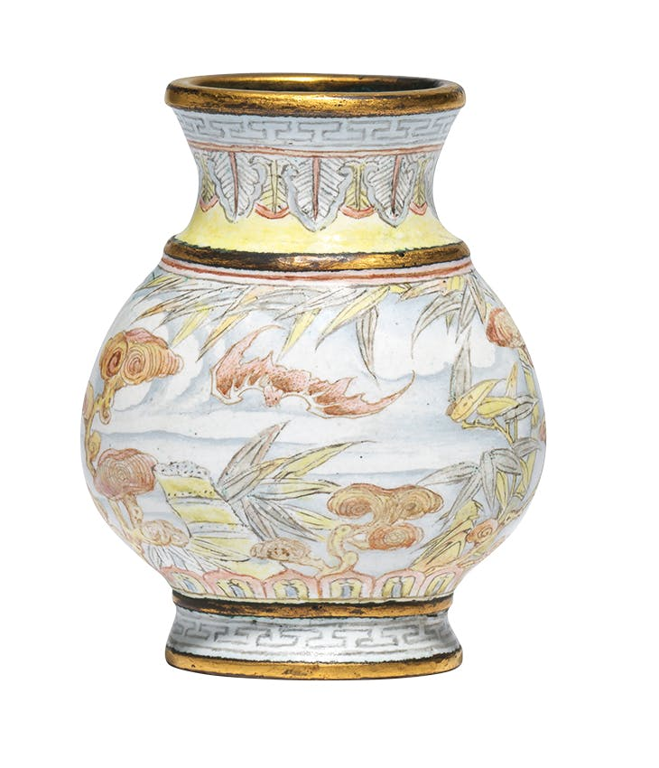 Hu vase (Qing Dynasty, Qianlong period (1735-96)), China. Littleton & Hennessy Asian Art (£100,000)