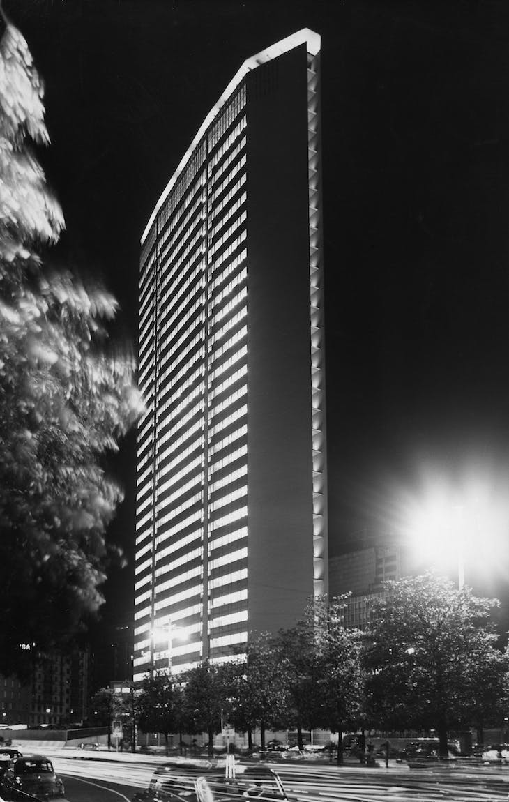 Pirelli Tower, Milan, designed by Gio Ponti and built 1956–60.