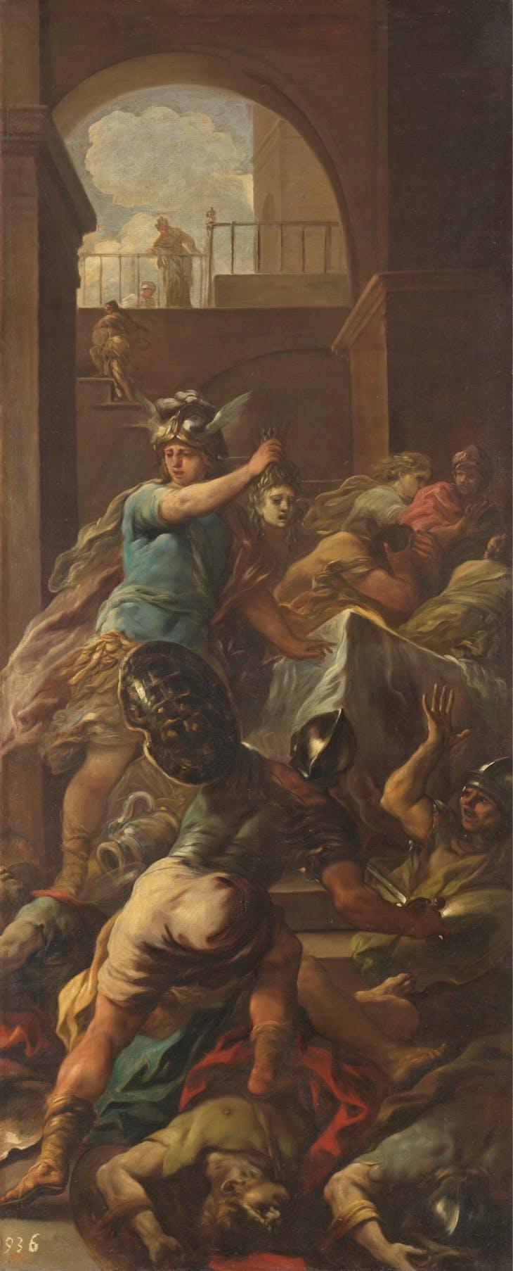 Perseus victorious over Medusa (1698), Luca Giordano.