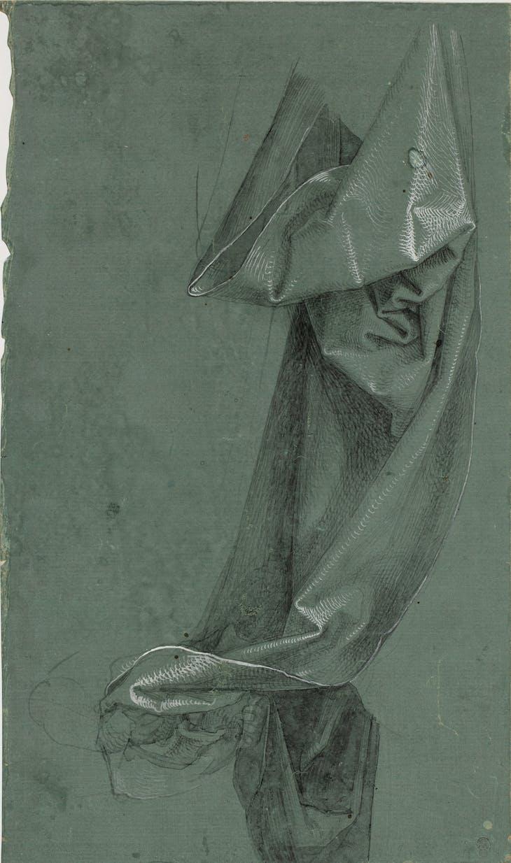 Drapery (1528), Albrecht Dürer.
