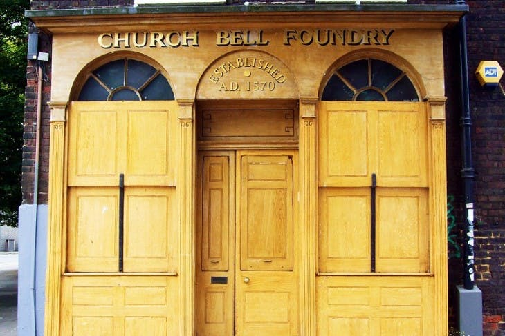 Former entrance of Whitechapel Bell Foundry.