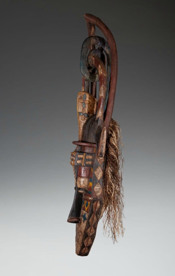 Banda mask (c. 1955), Baga/Nalu people.
