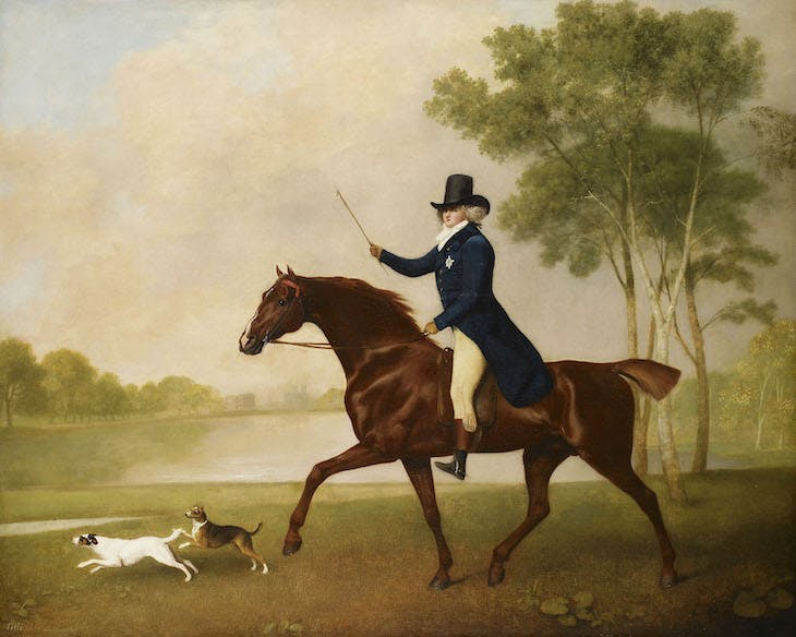 George IV (1762-1830) when Prince of Wales (1791), George Stubbs.