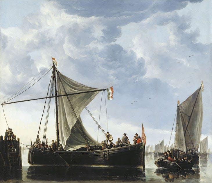 The Passage Boat (c. 1650), Aelbert Cuyp.