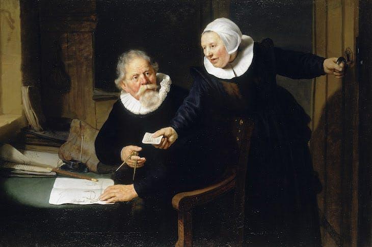 The Shipbuilder and his Wife (1633), Rembrandt van Rijn.
