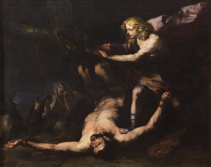 Apollo and Marsyas (c. 1660), Luca Giordano.