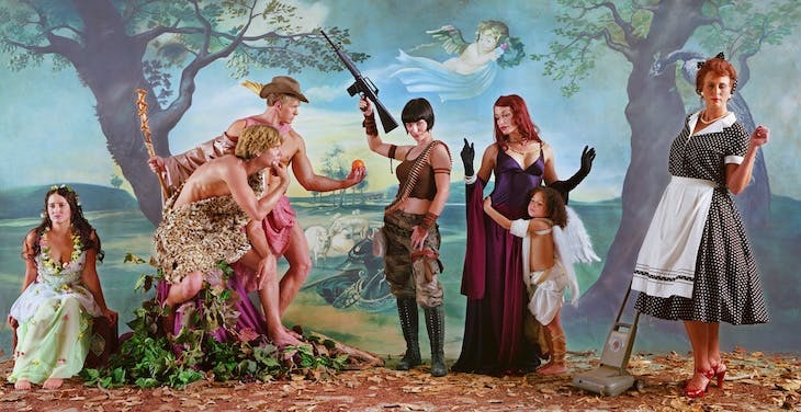 Judgement of Paris (after Rubens) (2007), Eleanor Antin