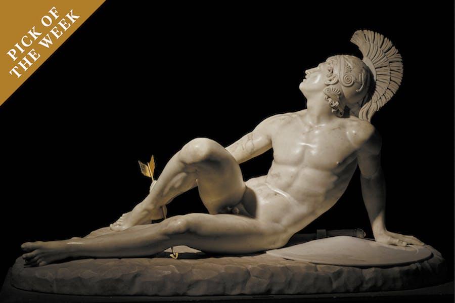 The Wounded Achilles (1825), Filippo Albacini.