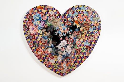 Heartland (1985), Miriam Schapiro. Orlando Museum of Art.