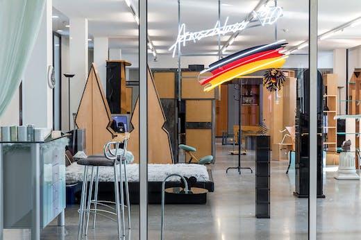 Installation view of 'Henrike Naumann: Das Reich' at Belvedere 21, Vienna, 2019.