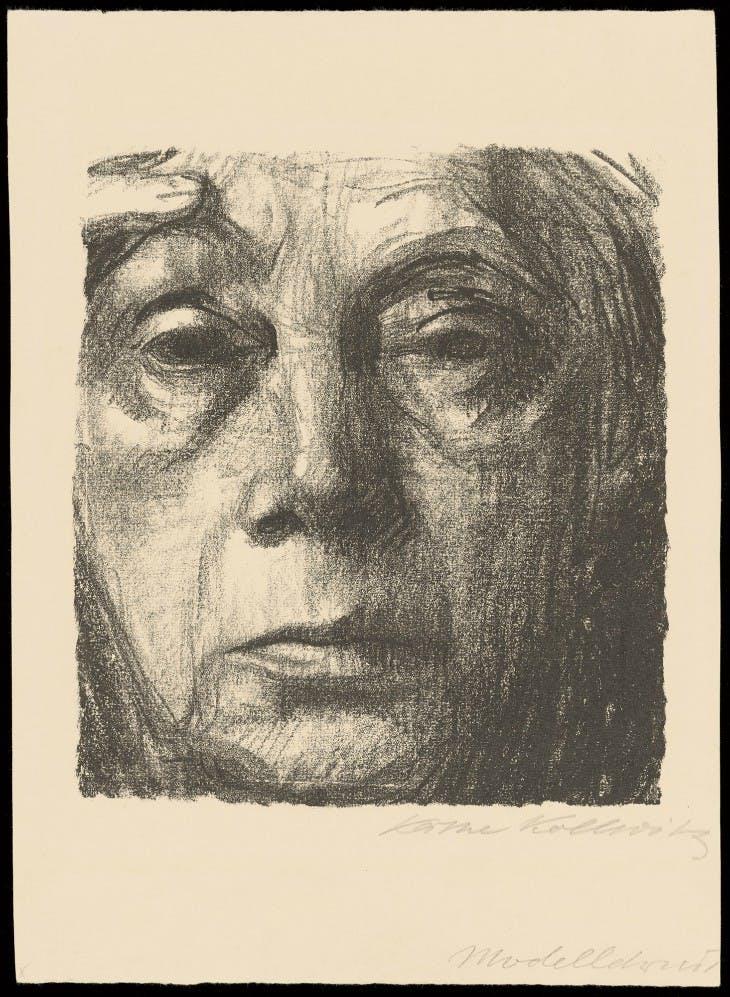 Self-Portrait (1934), Käthe Kollwitz.
