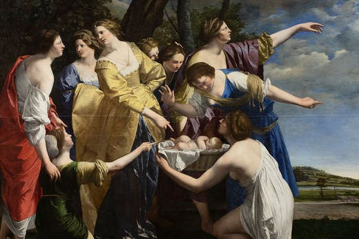 The Finding of Moses (early 1630s), Orazio Gentileschi
