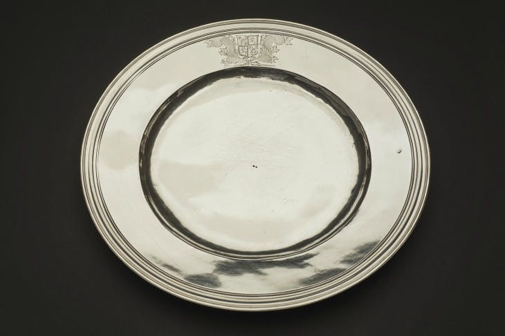 Pepys's silver trencher plate.