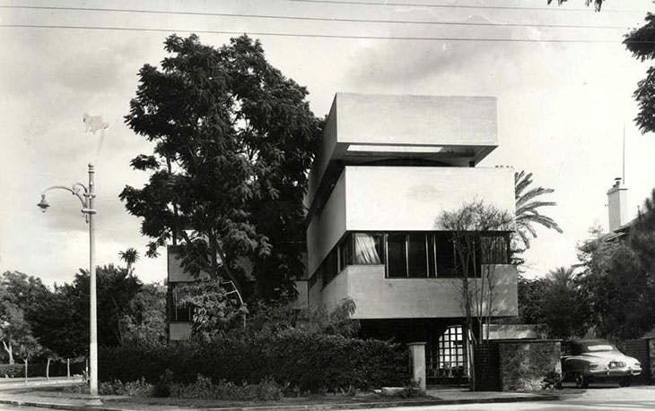Sayed Karim's villa in Maadi, Cairo, featured in Cairo since 1900: An Architectural Guide