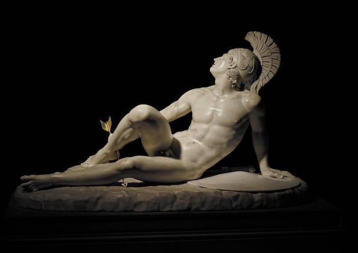 The Wounded Achilles (1825), Filippo Albacini.