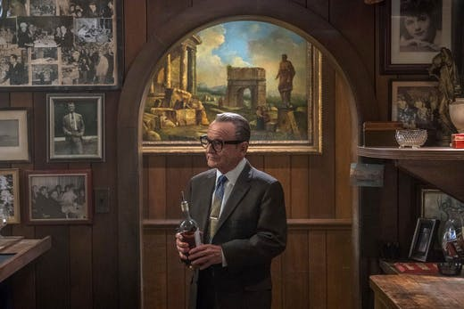 Joe Pesci as Russell Bufalino, who is clearly an art lover, in Martin Scorsese's The Irishman (2019).