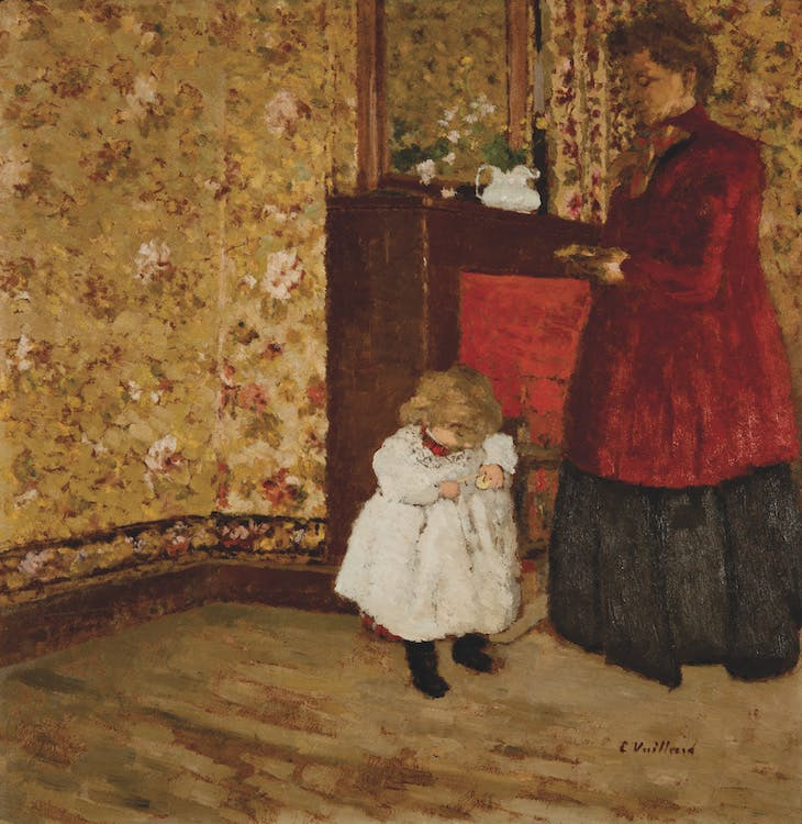 Mother and Child (1901), Édouard Vuillard.
