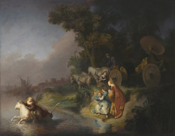 The Abduction of Europa (1632), Rembrandt van Rijn.