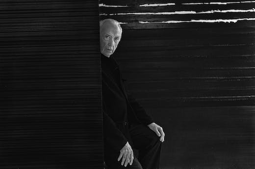 Pierre Soulages. Portrait of the artist, October 2, 2017
