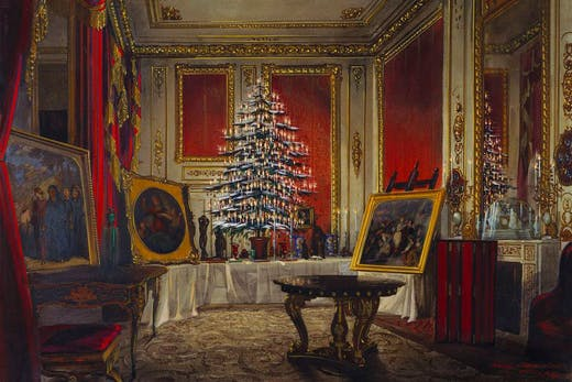 Queen Victoria's Christmas Tree at Windsor Castle (1850), James Roberts.