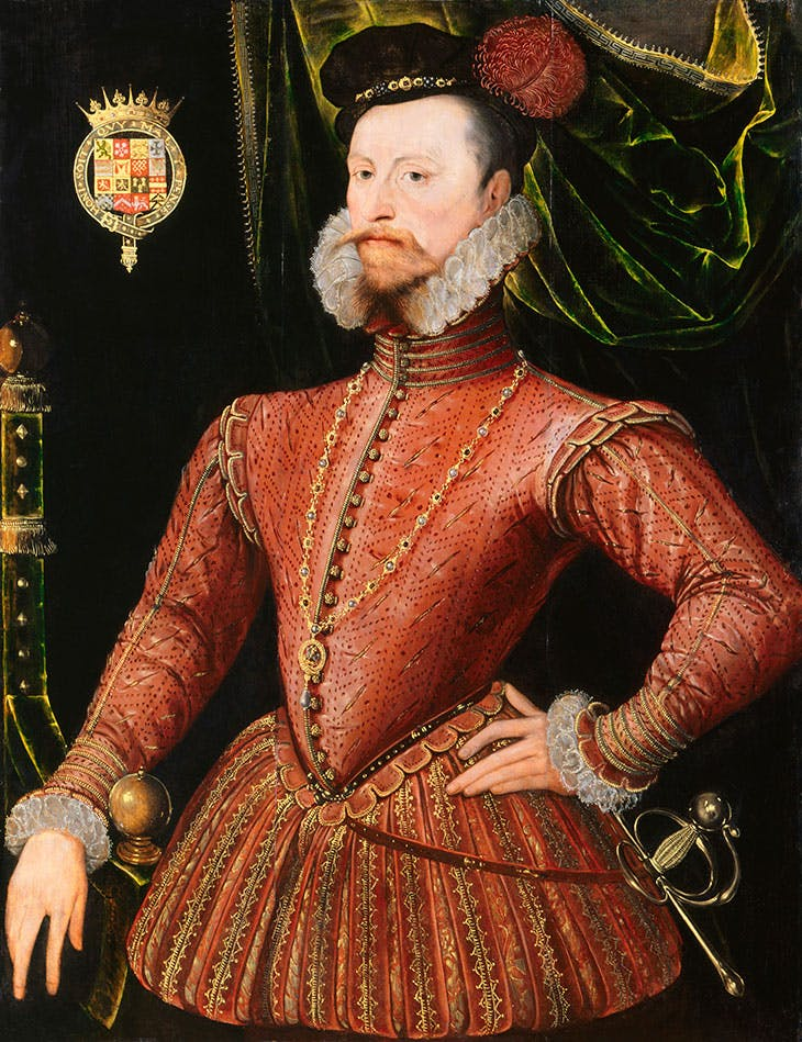 Robert Dudley, 1st Earl of Leicester (c. 1570–75), unknown Netherlandish artist.