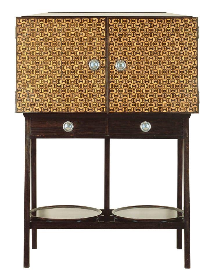 Cabinet (1891), designed by Ernest Gimson for Kenton & Co. Musée d'Orsay, Paris