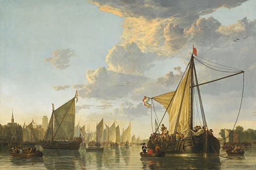 The Mass at Dordrecht (c. 1650), Aelbert Cuyp. National Gallery of Art, Washington, D.C.